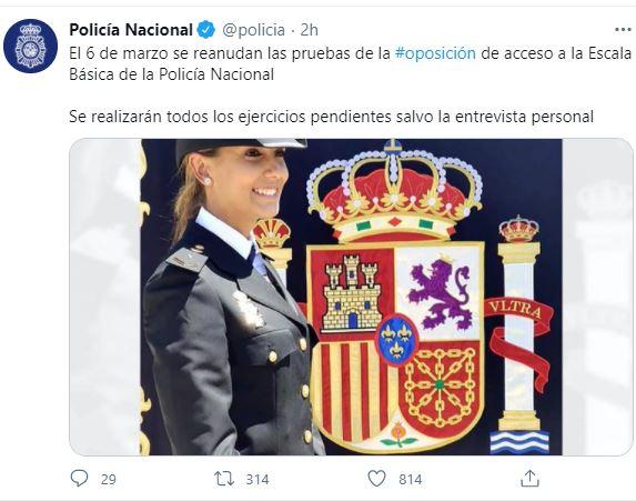 El-6-de-marzo-se-reanudan-las-pruebas-de-la-oposicion-la-Escala-Basica-Policia-Nacional El 6 de marzo se reanudan las pruebas de la oposicion Escala Basica Policia Nacional