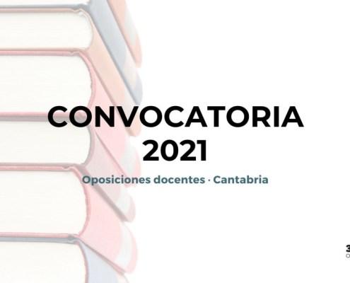 Publicada la convocatoria secundaria 2021 Cantabria