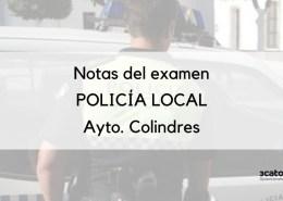Publicada-la-resolucion-con-las-notas-examen-policia-local-Colindres Admitidos definitivos y fecha examen policia local Colindres