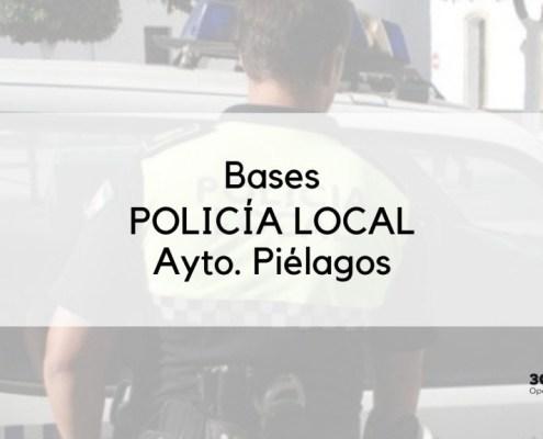 Publicadas las bases de la oposicion policia local Pielagos