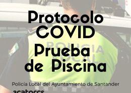 Protocolo-covid-para-la-prueba-natacion-policia-local-Santander OPE 2021 Ayuntamientos 3 plazas Policia Local Reinosa Cantabria