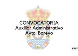 Publicada-la-convocatoria-Auxiliar-Administrativo-Cantabria-Bareyo Se levanta la suspensión de plazos de la convocatoria para la cobertura de 2 plazas Auxiliar Administrativo Camargo