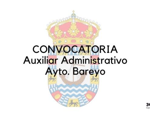 Publicada la convocatoria Auxiliar Administrativo Cantabria Bareyo