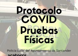 protocolo-covid-pruebas-fisicas-policia-local-Santander OPE 2021 Ayuntamientos 3 plazas Policia Local Reinosa Cantabria