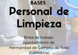 Bases-bolsa-de-empleo-limpieza-ayuntamiento-Campoo-de-Suso-Cantabria Admitidos y excluidos provisionales bolsa de trabajo educación infantil Cantabria Ampuero