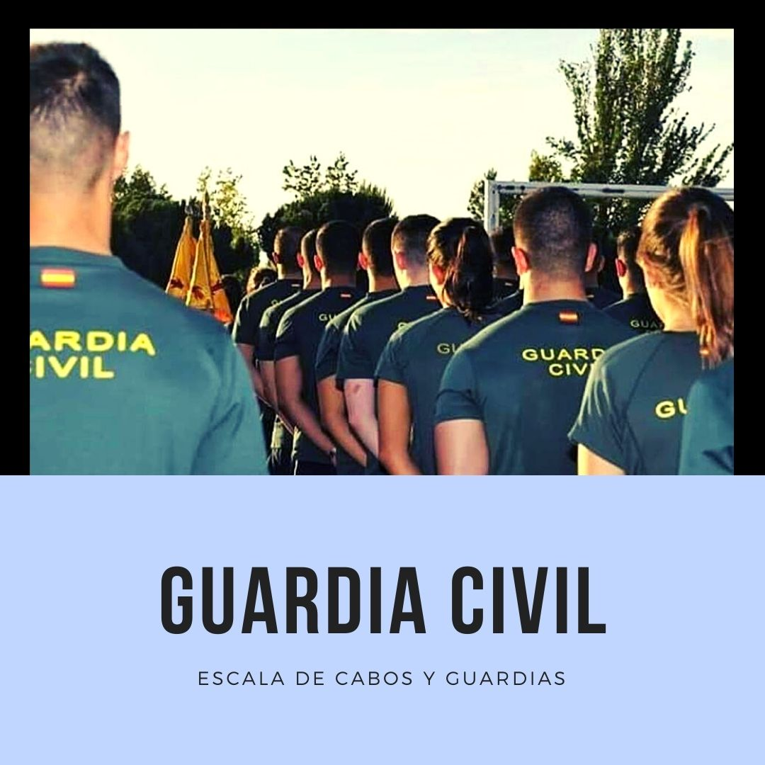 GUARDIA-CIVIL-2021-2022 oferta empleo publico 2021 Guardia Civil