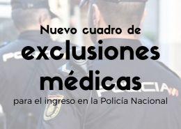 Publicado-el-Real-Decreto-que-aprueba-el-nuevo-cuadro-exclusiones-medicas-policia-nacional Temario Policia Nacional