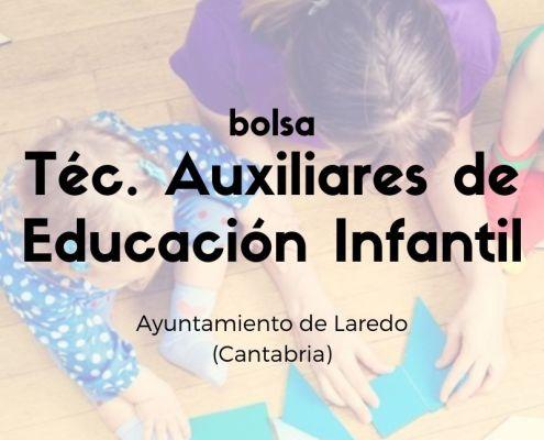 bolsa Tecnico Educacion Infantil Cantabria Laredo