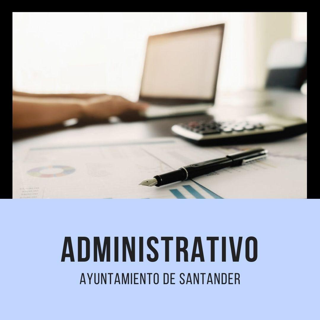 CURSO-ADMINISTRATIVO-SANTANDER Oposiciones Santander Administrativo