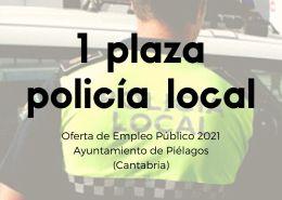 oposiciones-Cantabria-Policia-Local-1-plaza-Ayuntamiento-de-Pielagos Fecha reconocimiento medico oposicion policia local Ayuntamiento Santander