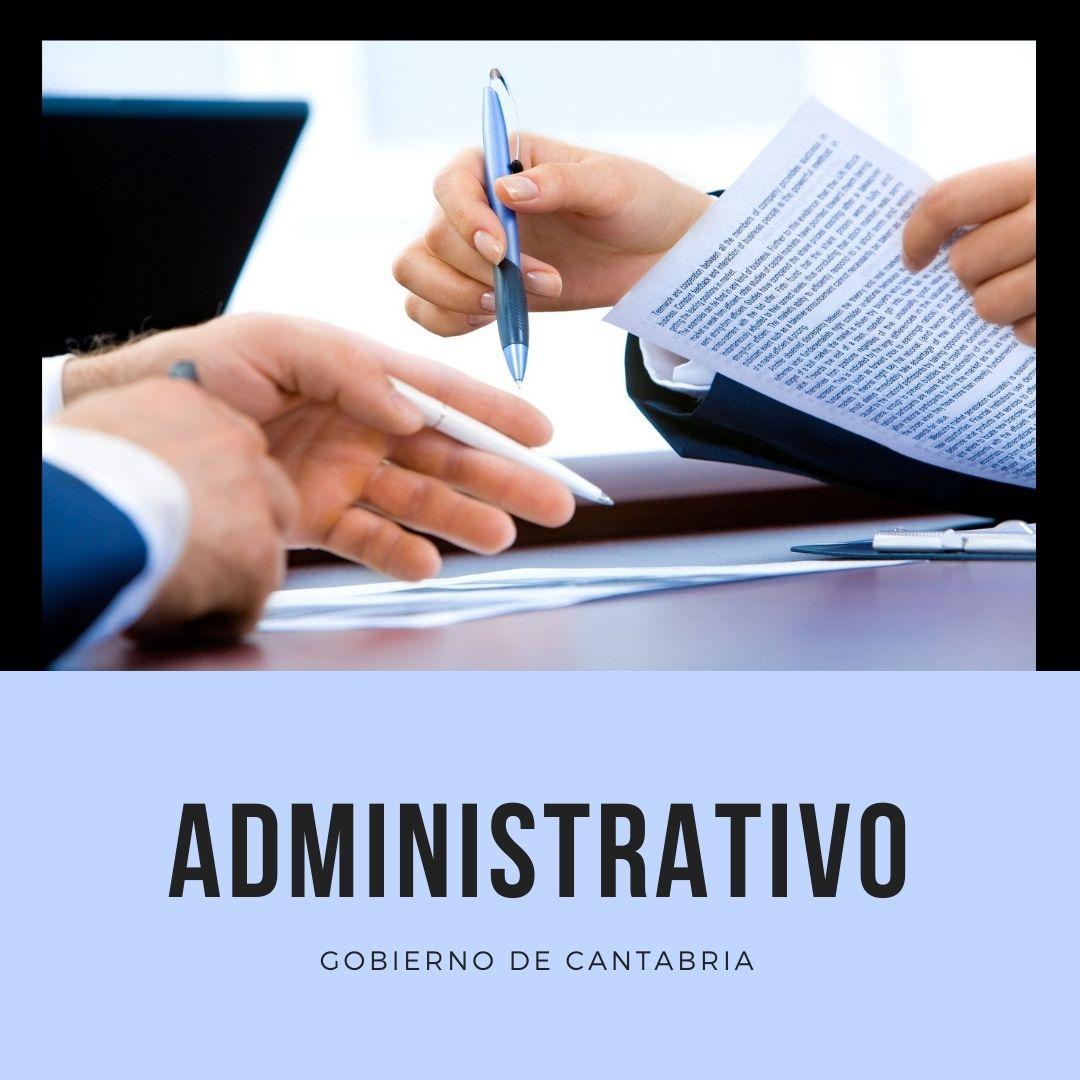 portada-curso-administrativo-cantabria-2021-2022 Oposiciones administrativos Cantabria
