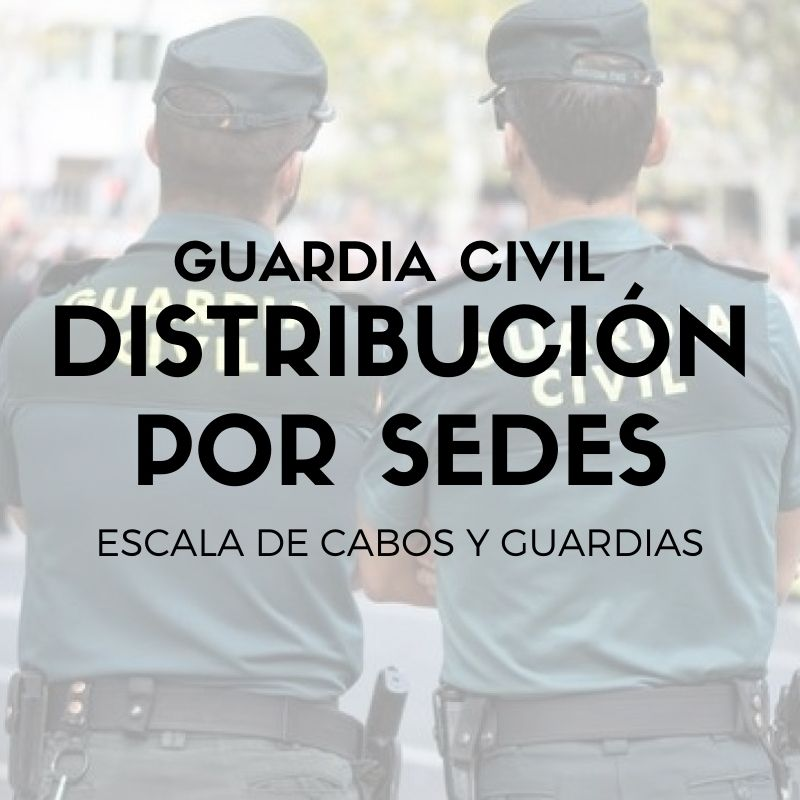 Sedes-oposicion-Guardia-Civil-2021 Sedes oposicion Guardia Civil 2021