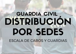 Sedes-oposicion-Guardia-Civil-2021 Preparación pruebas fisicas guardia civil