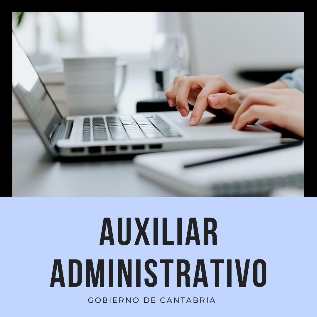 aux-admvo-ope-2020- convocatoria auxiliar administrativo Cantabria 1 plaza en Barcena de Cicero