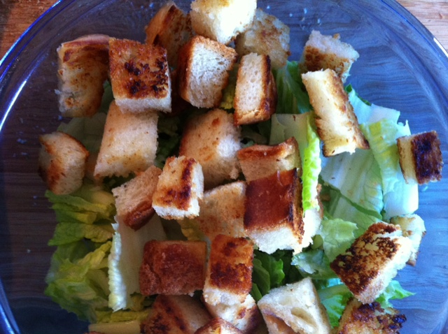 easy home made croutons