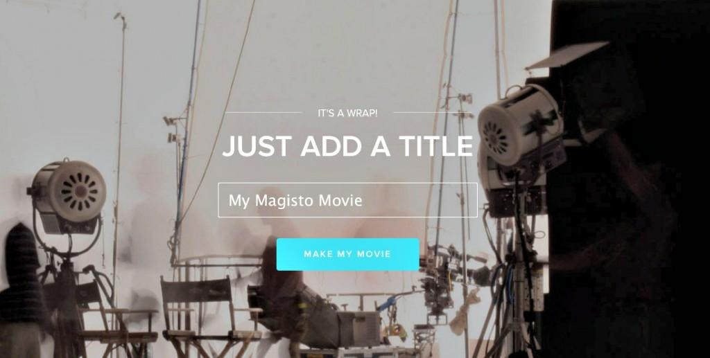making movies, online movies, easy movie making