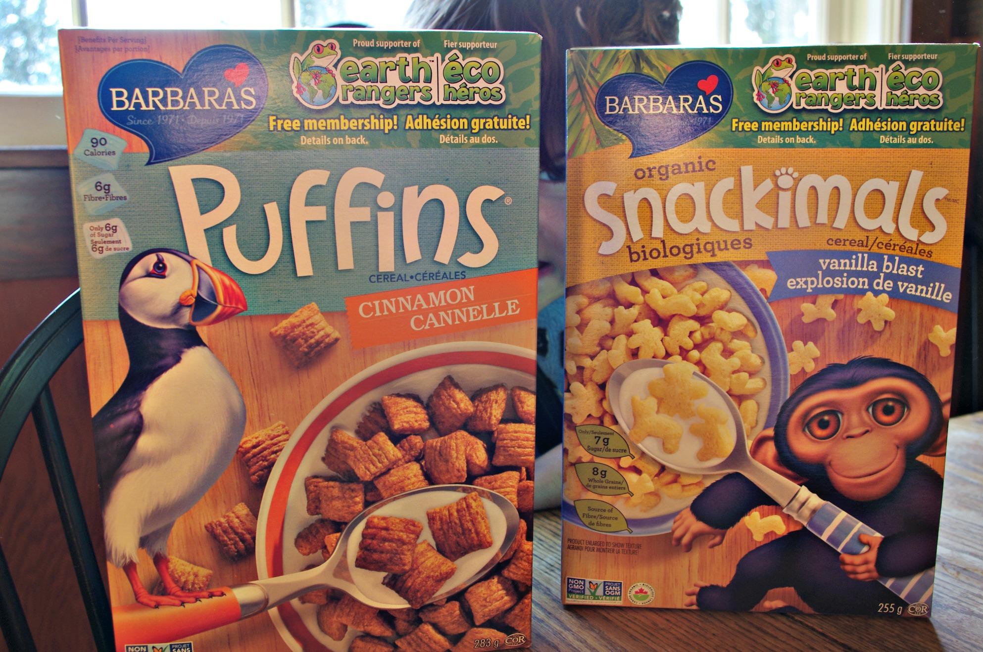 breakfast adventure with barbaras organic snackimals