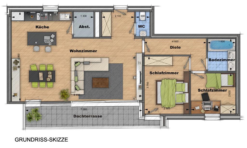 Grundriss Zeichnen Ihr Haus In 3D Beste Qualitt Zum