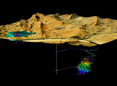 3D Modelling Geology and Mining Vulcan   3D mining software solution