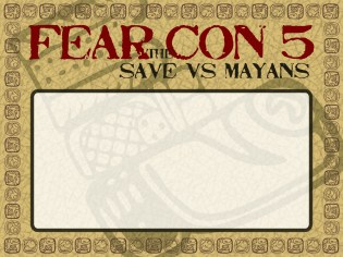 Fear the Con 5 Badge