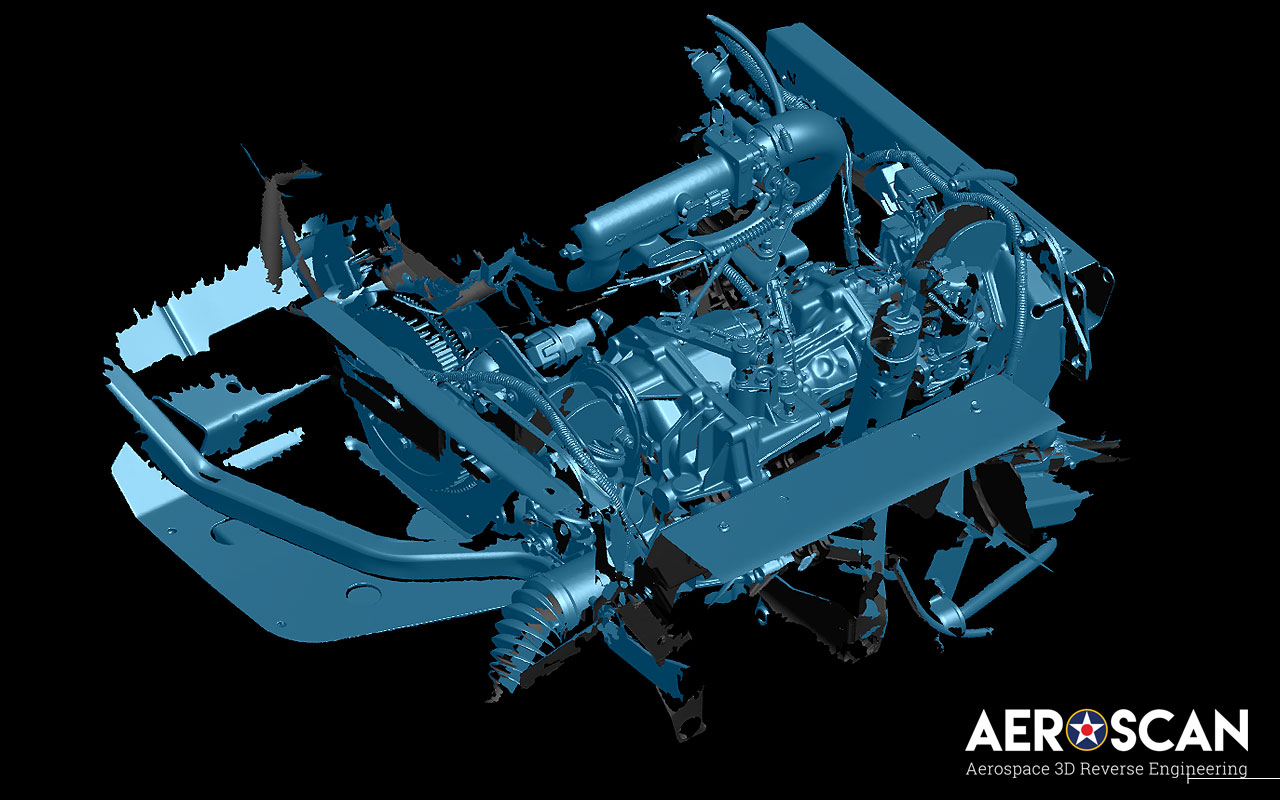 3d Scanning For Aviation Amp Aircraft Parts