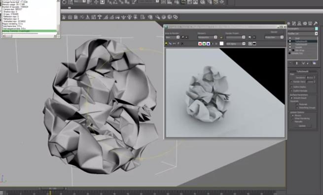 Tutorial: Creare carta stropicciata in 3ds Max