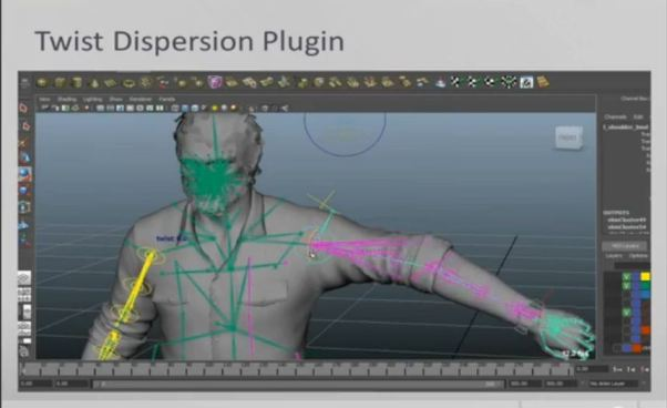 Character-Rigging-and-Modeling-The Last of Us