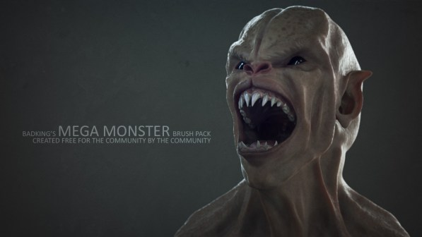 Download Monster ZBrush brushes FREE