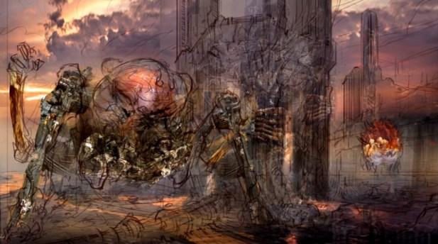 Ridisegnare Doom con Feng Zhu_3dart