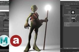 Arnold Render Lighting Basics Tutorial - MtoA 118