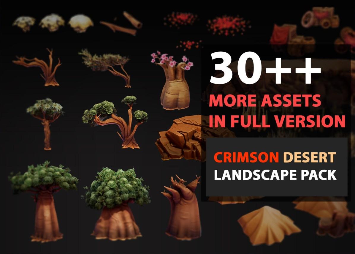 Download-theCrimson-Desert-Landscape-Free-full-Package