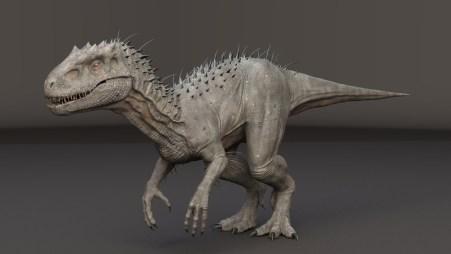 Indominus-Rex-Maya-rigged-model