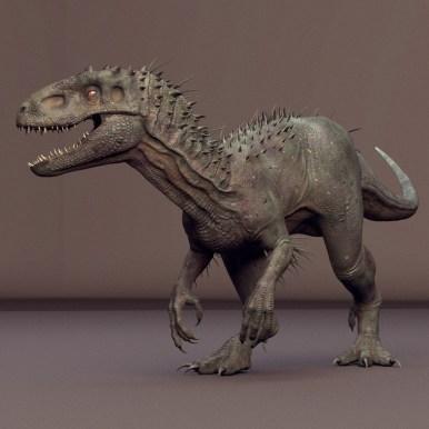 Indominus-Rex-maya-rig-model