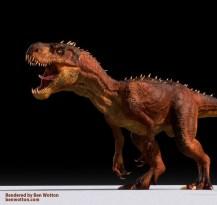 TRex Dinosaur -Diabo Rex- Maya Rig