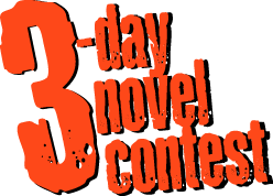 3-Day Novel Contest logo