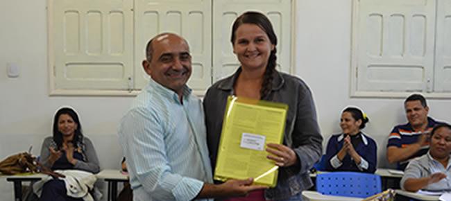 Prefeito Everaldo Gomes POSSE DOS CONSELHEIROS DO CONSELHO MUNICIPAL DE EDUCAÇÃO