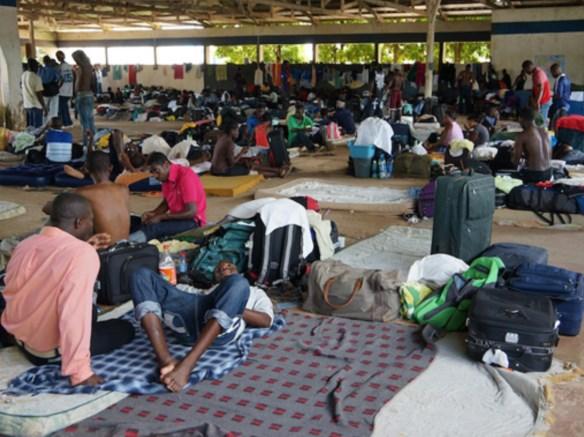 passaram pelo Acre mais de 10 mil haitianos.