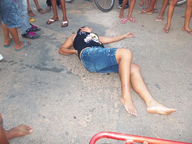 A policia militar foi no local e registrou mais esse acidente