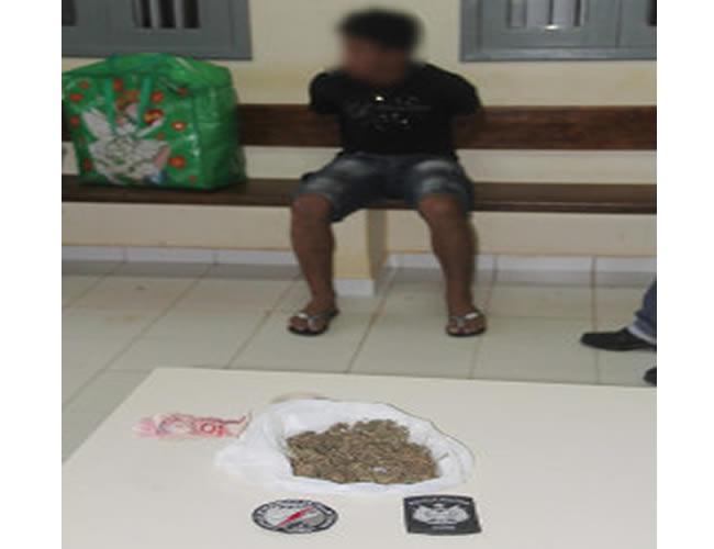 ovem disse que gastou R$ 30 reais na compra da droga – Foto: Alexandre Lima