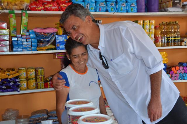 O prefeito Everlado Gomes aproveitou a agenda de compromisso do senador Sergio Petecão ao município de Brasiléia,