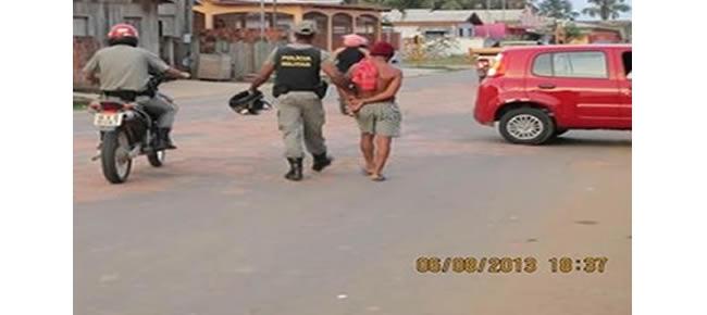 Em Feijó, outro detido foi conduzido a pé