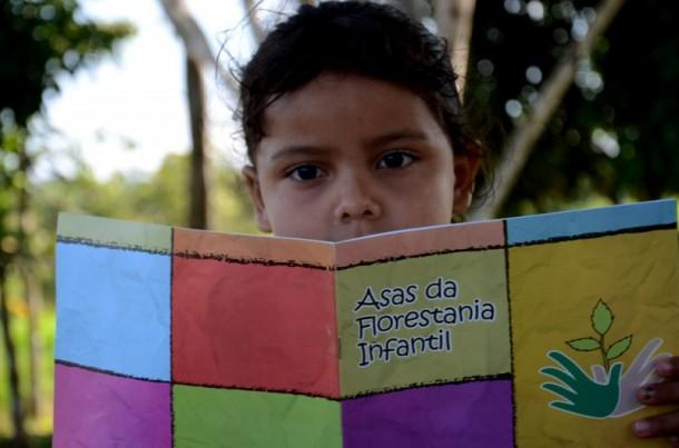 O Asas da Florestania é uma estratégia criada para levar educação infantil, fundamental e médio para áreas isoladas ou de difícil acesso (Foto: Mardilson Gomes)