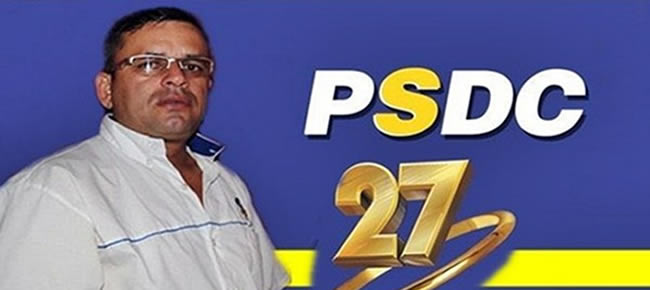 Alemão já sentou com líderes do PSDC, em especial com o Deputado Edivaldo Souza