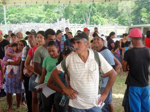 Mais de 600 pessoas foram atendidas com atendimentos médicos e laboratoriais