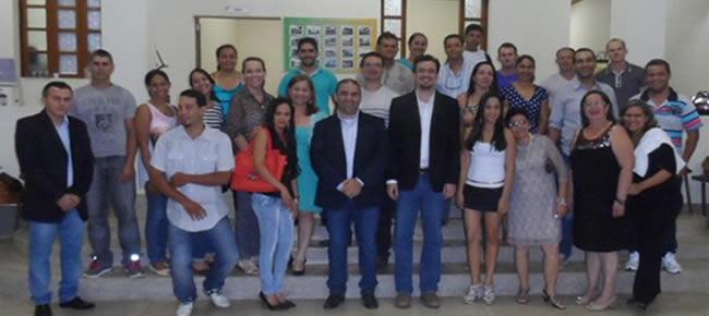 A aula inaugural do curso de Administração Pública