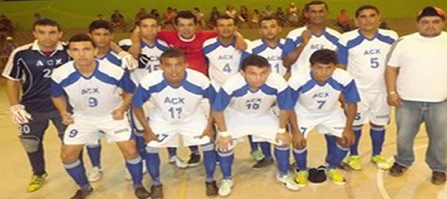 Xapuriense, campeão da 2ª Divisão de 2013 (Foto: Arquivo Pessoal / Reprodução Facebook)
