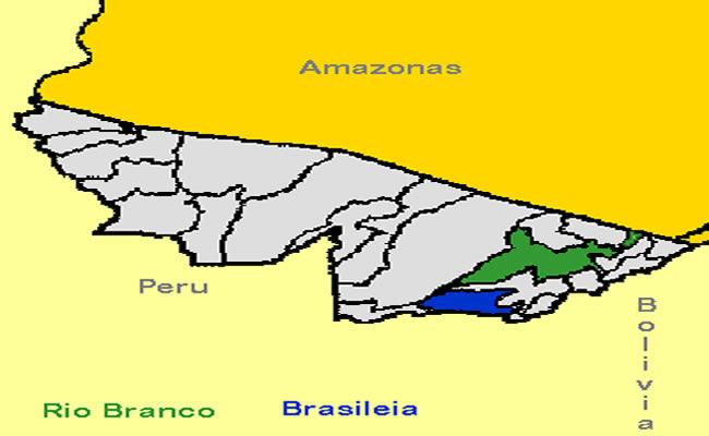 BRASIL BOLÍVIA É PERU