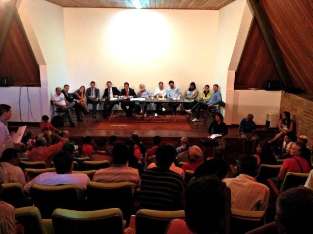 Audiência foi realizada pelo MPF nesta quarta-feira (Foto: Veriana Ribeiro/G1)