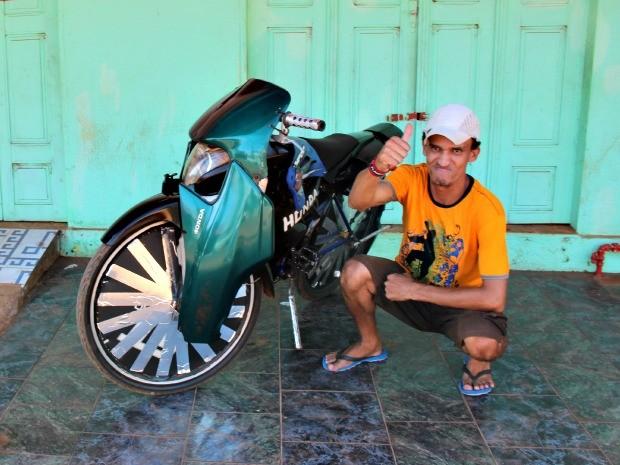 Adriano da Silva tem 31 anos e mora em Rio Branco, no Acre (Foto: Duaine Rodrigues/G1)