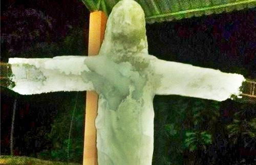 Imagem da Estátua que a gestão de Everaldo Gomes prepara para Brasiléia/Foto Chiquinho Chaves